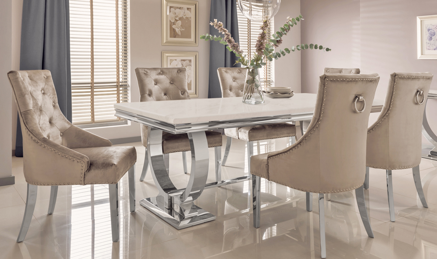 Buy Arianna Dining Table 1800 Online At Best Prices In
